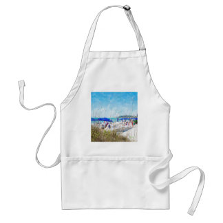 Late Winter Early Spring on Lido Beach Standard Apron