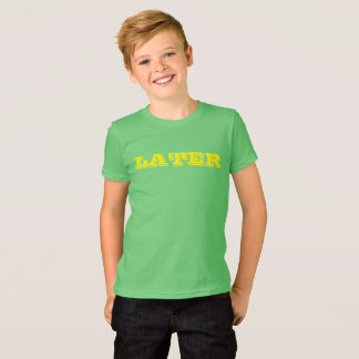 LATER GATOR Funny Crocodile Alligator Animal Green T-Shirt