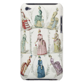Latest Paris Fashions, nine day dresses in a fashi Barely There iPod Cases