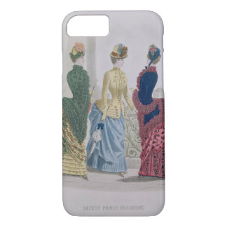 Latest Paris Fashions, three day dresses in a fash iPhone 8/7 Case