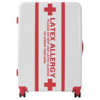 Latex Allergy Alert Luggage