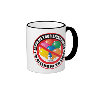 Latex Allergy Coffee Mugs