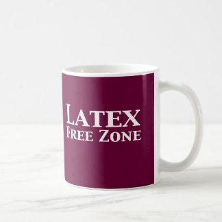 Latex Free Zone Gifts Coffee Mugs