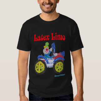 Latex LImo Shirt with Balloon Clown in Car