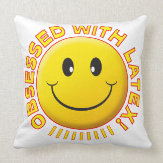 Latex Obsessed Smile Pillows
