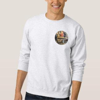 Lathe in Wood Shop Sweatshirt