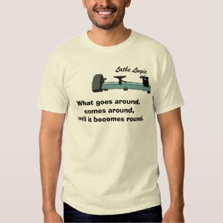 lathe logic 1 tshirt