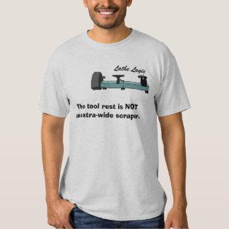 lathe logic 2 t-shirts