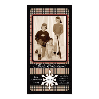 Lathrum Plaid Holiday Traditions Photo Cards