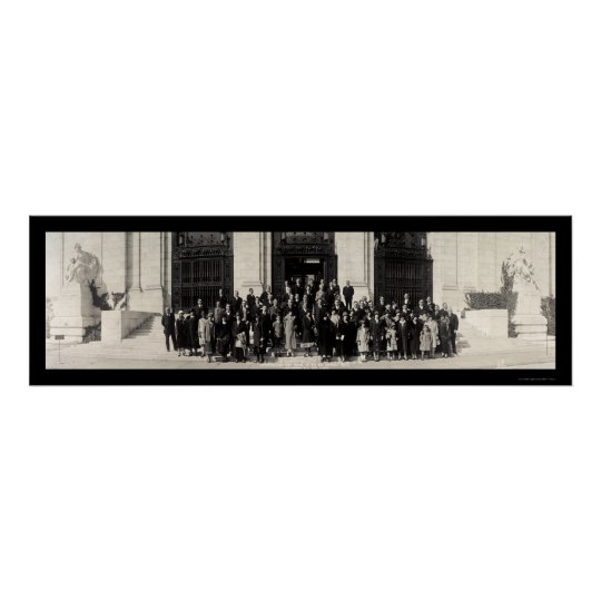 Latin American DC Group Photo 1925 Poster