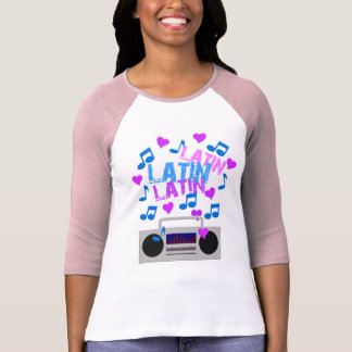 Latin Boombox shirt - choose style & color