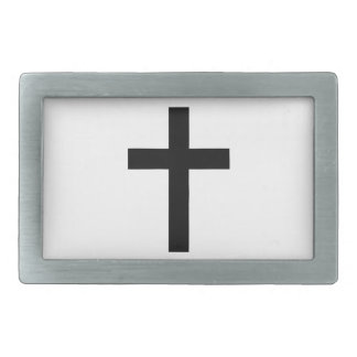 Latin (Christian) Cross Belt Buckles