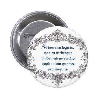 Latin Closeup! 6 Cm Round Badge