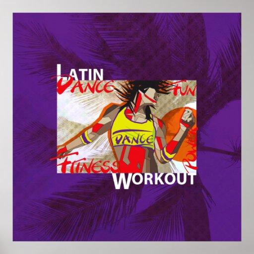 LATIN DANCE WORKOUT - Poster