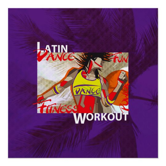 LATIN DANCE WORKOUT - Poster