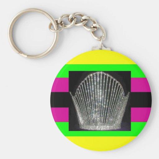 Latin Diva Pride Key Chains