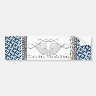 @Latin_Fashion Logo Bumper Sticker