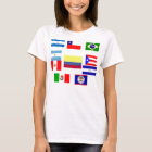 Latin Flags T-Shirt