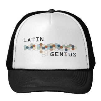 Latin Genius Hats