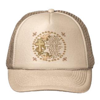Latin Lords Prayer Cap