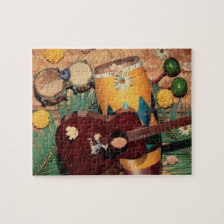 Latin music instruments jigsaw puzzle