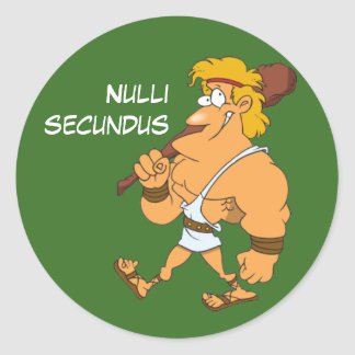 Latin: Nulli secundus Stickers