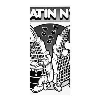 LATIN NY CUSTOMIZED RACK CARD