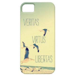 Latin quote iPhone 5 s case Seagulls Ocean iPhone 5 Cover