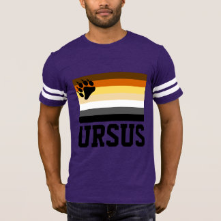 Latin (Ursus) Gay Bear Pride Flag T-Shirt