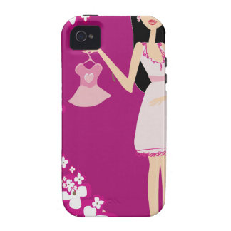latina pregnant woman vibe iPhone 4 cases
