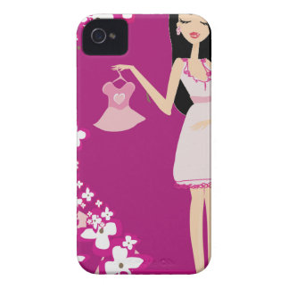 latina pregnant woman iPhone 4 cases