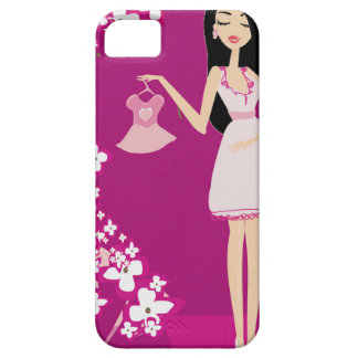 latina pregnant woman iPhone 5 cover