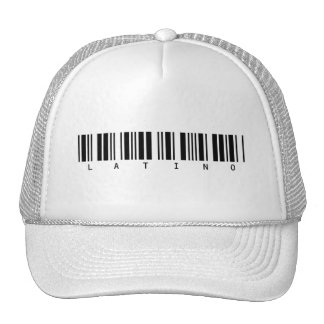 Latino Barcode Trucker Hat