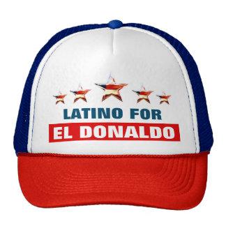 Latino For El Donaldo Cap