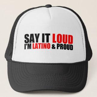 Latino & Proud Trucker Hat