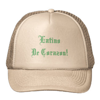 latinos trucker hat