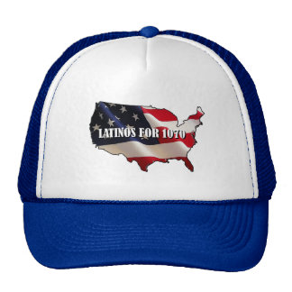 Latinos For 1070 Trucker Hat