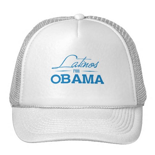 LATINOS FOR OBAMA -.png Hat