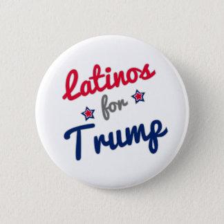 Latinos for Trump 2016 6 Cm Round Badge