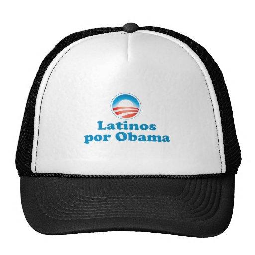 Latinos por Obama Trucker Hat