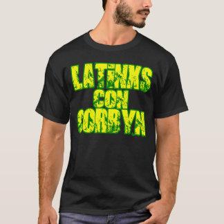 LATINXS CON CORBYN 2020, VERDE T-Shirt