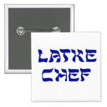 Latke Chef Pinback Button