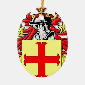 Latona Coat of Arms Ceramic Oval Decoration