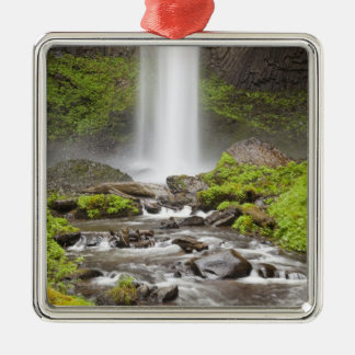 Latourell Falls, Columbia River Gorge, Oregon, Christmas Ornament