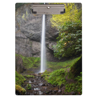 Latourell Falls In Guy W Talbot State Park Clipboard