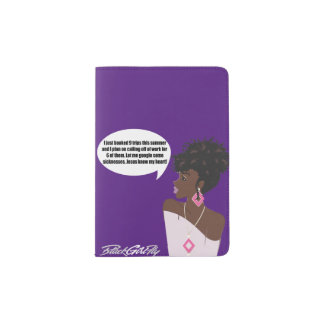 LaToya Passport Cover