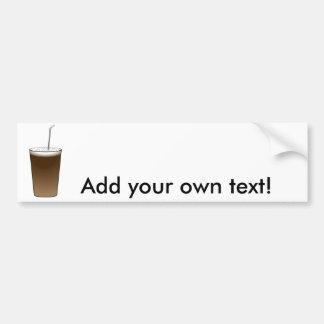 Latte Bumper Sticker