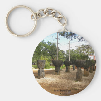Latte Stone Park Guam Key Ring