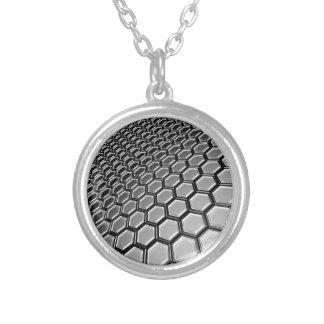 lattice 2016 round pendant necklace