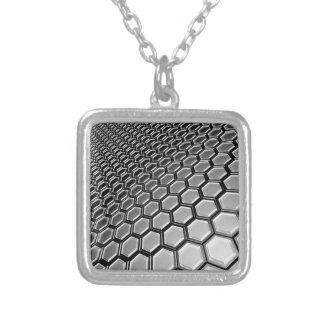lattice 2016 square pendant necklace